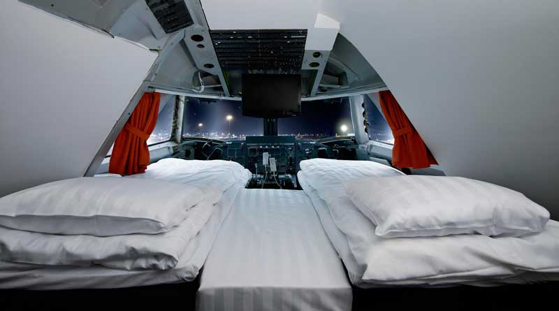 Jumbo Jet Hotel