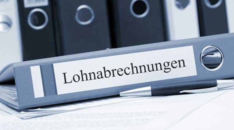 """Ordner """"Lohnabrechnung"""""""