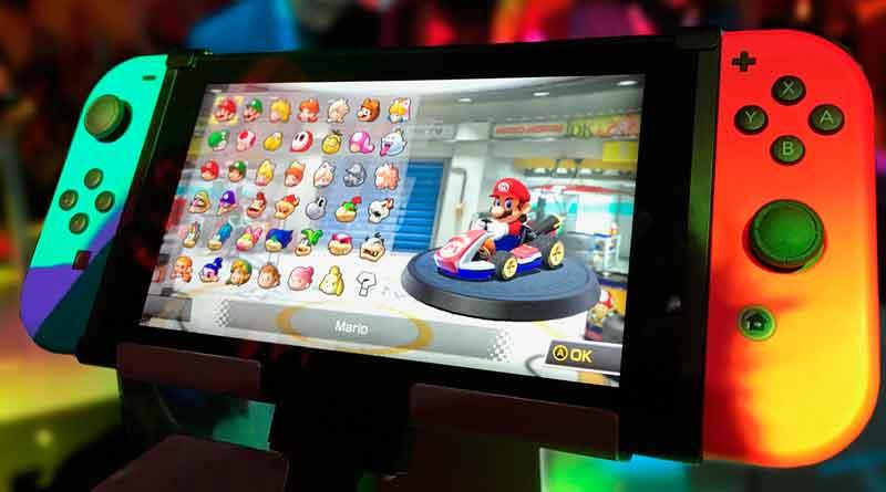 Super Maro auf Nintendo-Konsole