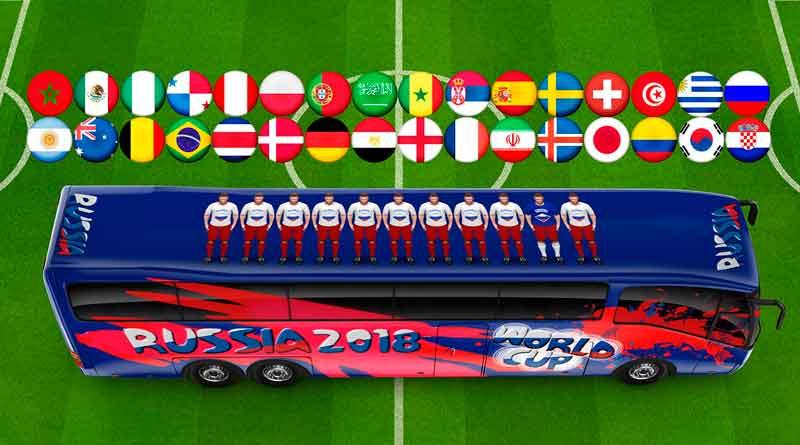 Fußball Weltmeisterschaft in Russland 2018, Symbolbild