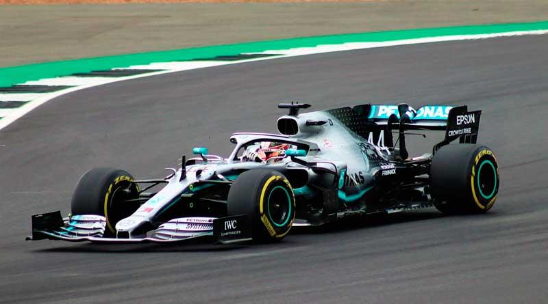 Lewis Hamilton in F1-Auto