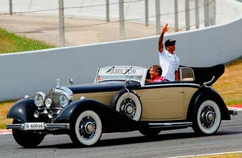 Lewis Hamilton Siegerehrung