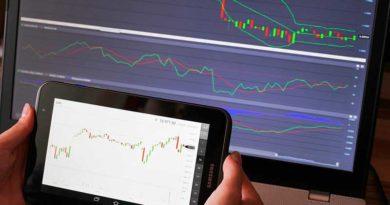 PC und Smartphone mit Trading Charts