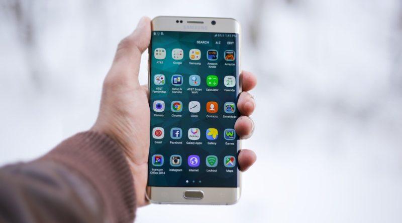 Ein Samsung-Smartphone