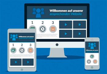 Responsive Website-Entwicklung