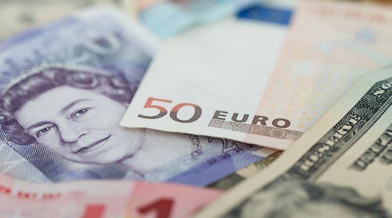 Banknoten verschiedener Währungen
