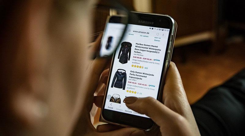 Online-Shopping am Smartphone