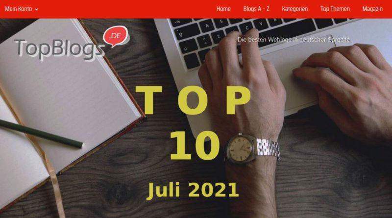 Top 10 Juli 2021