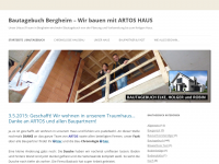 Bautagebuch Bergheim Wir Bauen Mit Artos Haus Unser Traumhaus